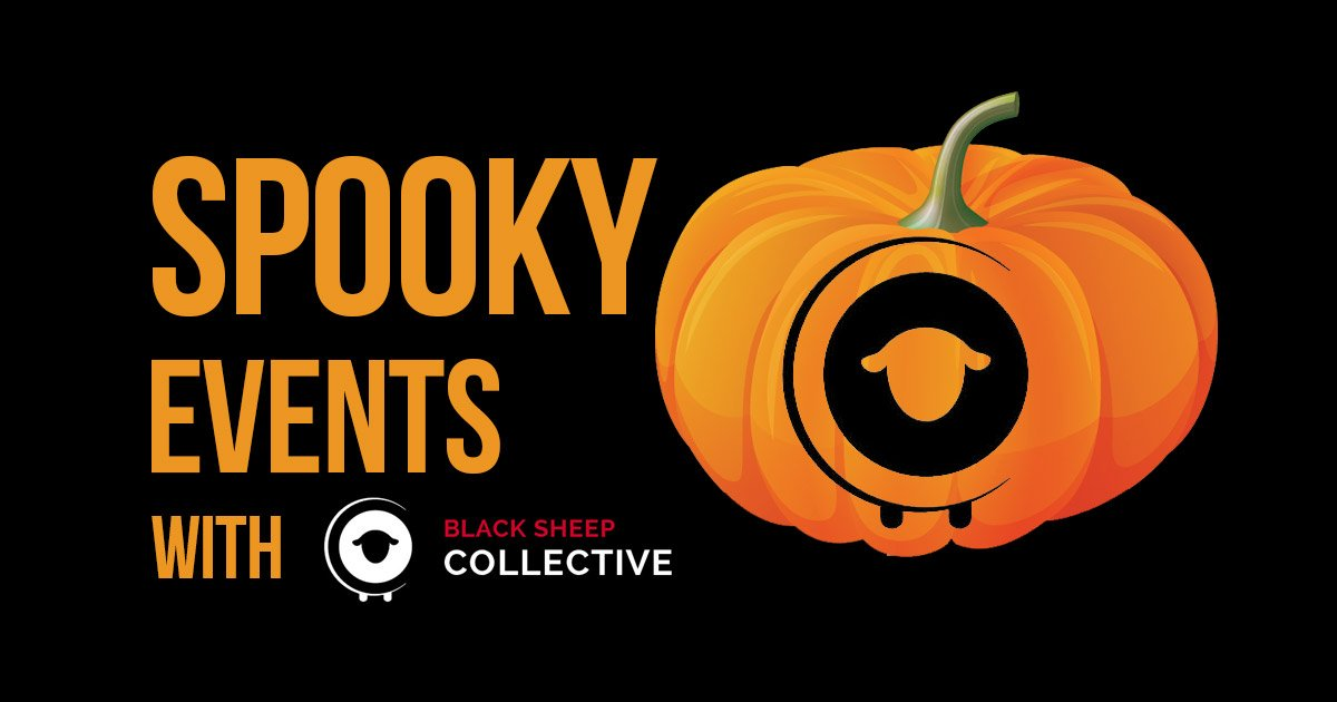 halloween events in milton keynes with black sheep collective